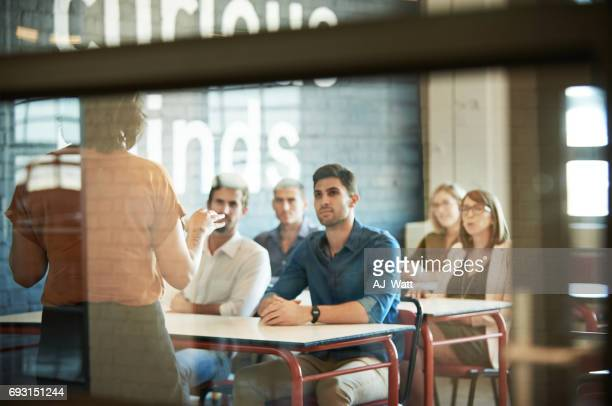 soaking up the information - classroom stock photos and pictures