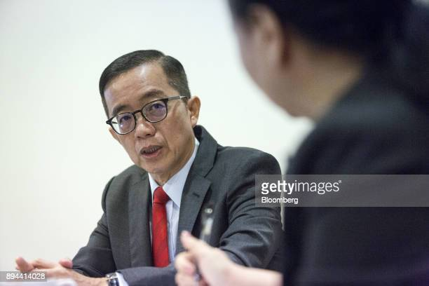 Soam Heng Choon chief executive officer of IJM Corp speaks during an interview in Kuala Lumpur Malaysia on Tuesday May 30 2017 IJM is Malaysia's...