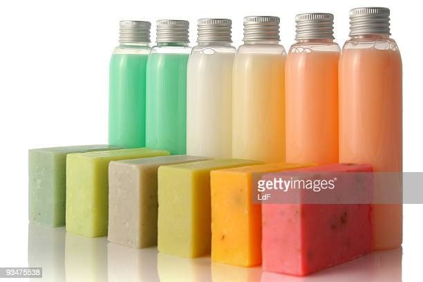 Soap in a row