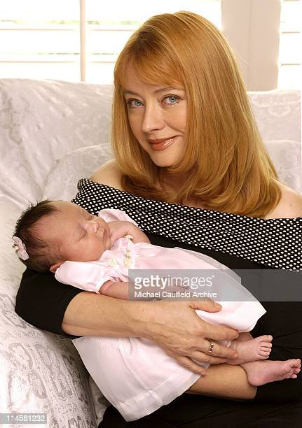 Soap Opera star Andrea Evans who portrays Rebecca Hotchkiss Crane on NBC-TV's 'Passions,' introduces her newly adopted daughter, Kylie Lyn, to the public for the first time. The tot was born on Mother's Day. Evans noted 'What more perfect gift could I possibly ask for?'