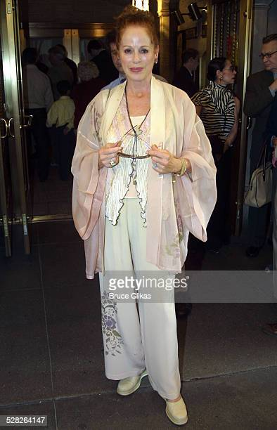 Soap Star Louise Sorel during Official Dedication and Marquee Unveiling of The Al Hirschfeld Theatre on Broadway at The Al Hirschfeld Theatre in New...