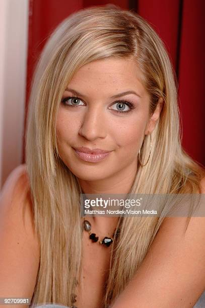 Soap star of 'Gute Zeiten Schlechte Zeiten' Susan Sideropoulus poses during a photo session on January 31, 2007 in Berlin, Germany.