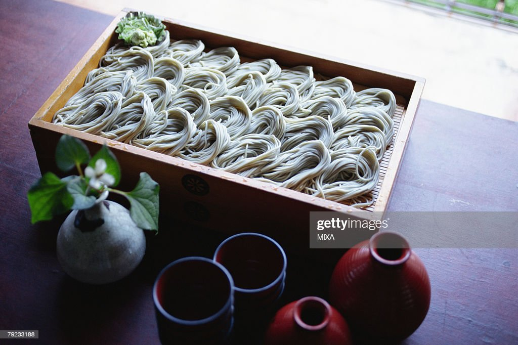 Soba noodle : Stock Photo