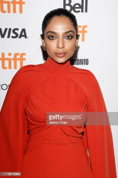 """Sobhita Dhulipala attends the """"The Elder One"""" photo call during the 2019 Toronto International Film Festival at Winter Garden Theatre on September..."""