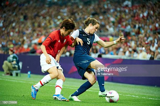 2012 Summer Olympics USA Kelley O'Hara in action vs Japan during Women's Gold Medal Match at Wembley Stadium London United Kingdom 8/9/2012 CREDIT Al...