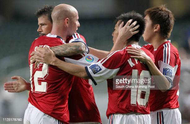 Soccer AFC Cup 2011 Group H match between South China of Hong Kong and East Bengal of India at Hong Kong Stadium So Kon Po Picture shows SCAA...