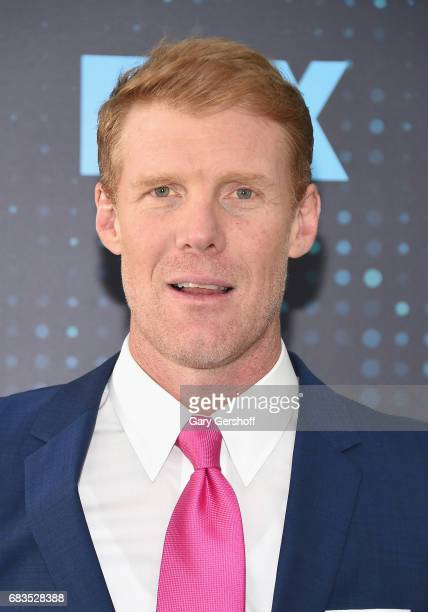 Soccer analyst Alexi Lalas attends the FOX Upfront on May 15 2017 in New York City