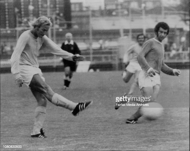 Soccer at Wentworth Park Sunday Feb 6th 1972 AMPOL CupHakoah Eastern Suburbs Vs AuburnAgenor Muniz February 6 1972