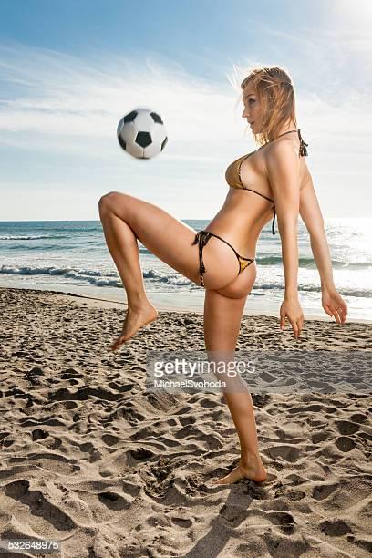 Fußball-Babe