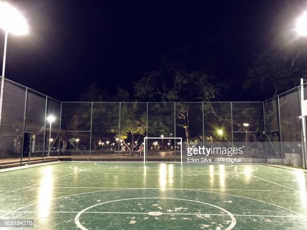 soccer ball court - amateur stock pictures, royalty-free photos & images