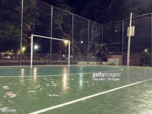 Soccer ball court