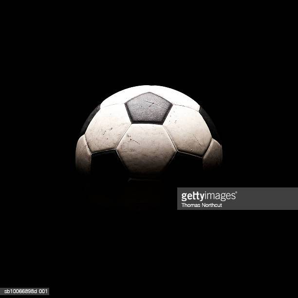 Soccer ball in shadows