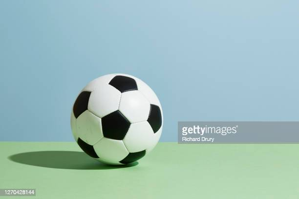 a soccer ball - football stock pictures, royalty-free photos & images