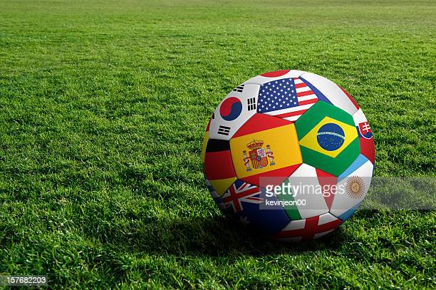 soccer ball - fifa world cup stock pictures, royalty-free photos & images