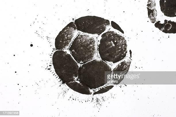 Soccer ball stain
