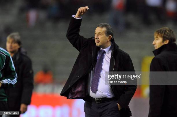 Belgium Austriageorges Leekens Coach Trainer Entraineur Uefa Euro 2012 Qualification Autriche Oostenrijk / Tim De Waele
