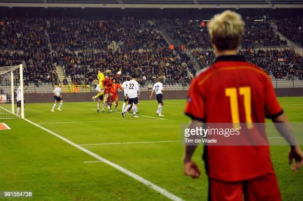 Belgium Austriaillustration Illustratie Corner Jonathan Legear / Marouane Fellaini / Jurgen Macho / Uefa Euro 2012 Qualification Autriche Oostenrijk...