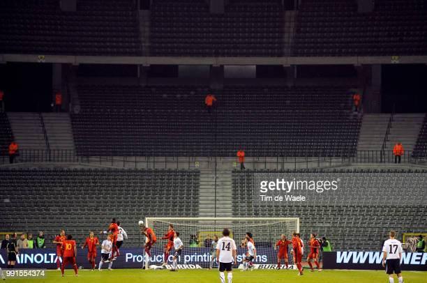 Belgium Austriaillustration Illustratie Koning Boudewijnstadion Stade Roi Baudouin Stadion Uefa Euro 2012 Qualification Autriche Oostenrijk / Tim De...