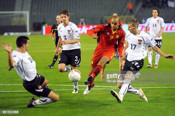 Belgium Austriaillustration Illustratie Marvin Ogunjimi / Paul Schamer / Florian Klein / Uefa Euro 2012 Qualification Autriche Oostenrijk / Tim De...