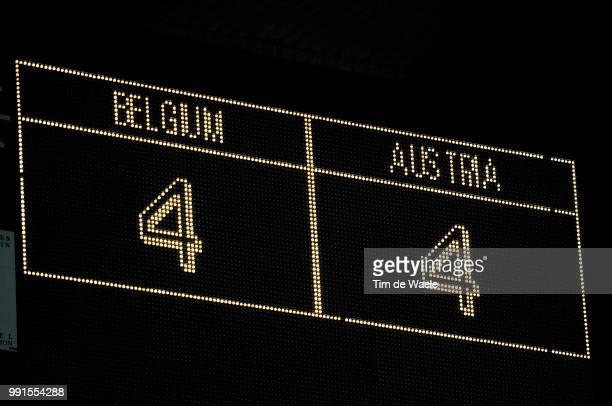 Belgium Austriaillustration Illustratie Score Result Resultat Resultaat 44 Uefa Euro 2012 Qualification Autriche Oostenrijk / Tim De Waele