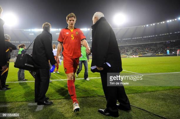 Belgium Austriajan Vertonghen Deception Teleurstelling Uefa Euro 2012 Qualification Autriche Oostenrijk / Tim De Waele