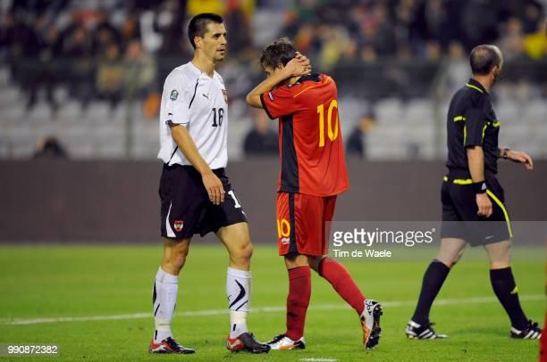 Belgium Austriajelle Vossen Deception Teleurstelling Uefa Euro 2012 Qualification Autriche Oostenrijk / Tim De Waele