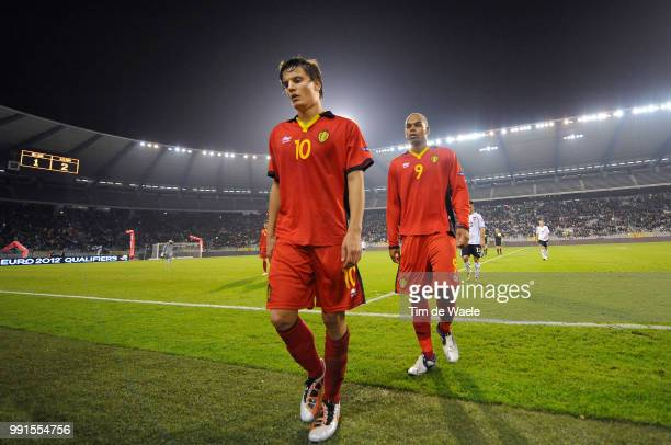 Belgium Austriajelle Vossen / Marvin Ogunjimi / Deception Teleurstelling Uefa Euro 2012 Qualification Autriche Oostenrijk / Tim De Waele