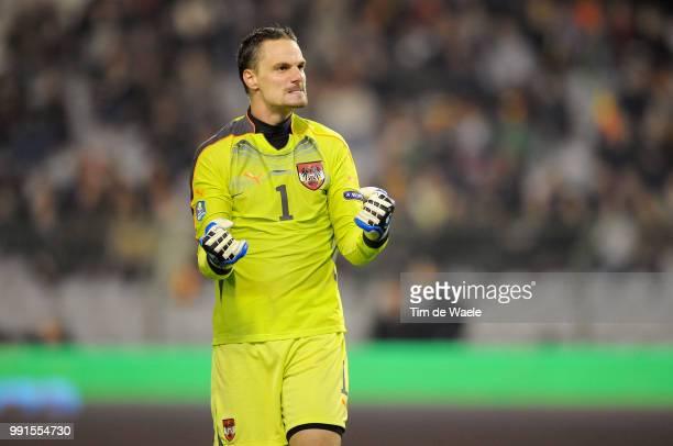 Belgium Austriajurgen Macho / Celebration Joie Vreugde Uefa Euro 2012 Qualification Autriche Oostenrijk / Tim De Waele