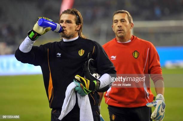Belgium Austrialogan Bailly / Filip Van De Walle / Uefa Euro 2012 Qualification Autriche Oostenrijk / Tim De Waele