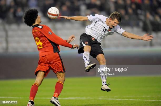 Belgium Austriamarouane Fellaini / Franz Schiemer / Uefa Euro 2012 Qualification Autriche Oostenrijk / Tim De Waele