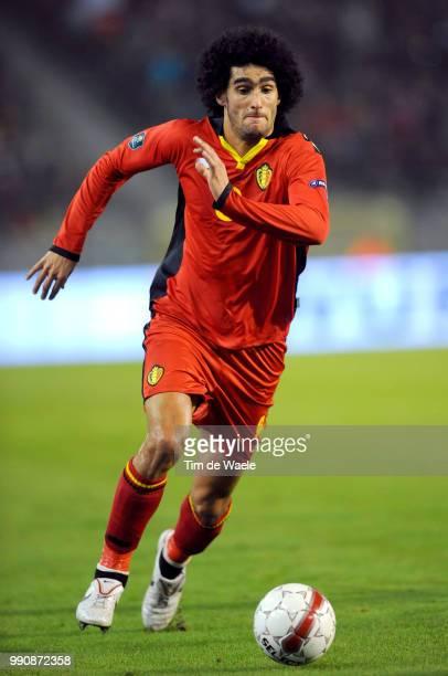 Belgium Austriamarouane Fellaini /Uefa Euro 2012 Qualification Autriche Oostenrijk / Tim De Waele