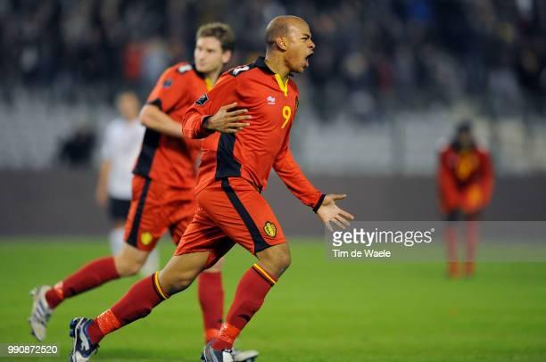Belgium Austriamarvin Ogunjimi Celebration Joie Vreugde Uefa Euro 2012 Qualification Autriche Oostenrijk / Tim De Waele