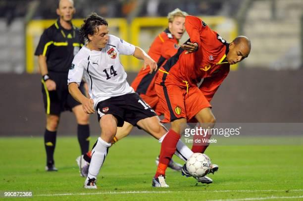 Belgium Austriamarvin Ogunjimi / Julian Baumgartlinger / Uefa Euro 2012 Qualification Autriche Oostenrijk / Tim De Waele