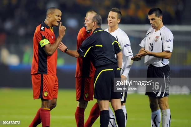 Belgium Austriavincent Kompany / Paul Schamer / Uefa Euro 2012 Qualification Autriche Oostenrijk / Tim De Waele