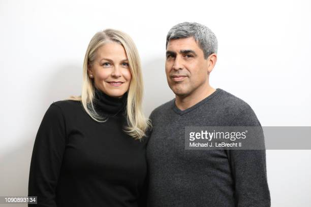 Casual portrait of New York City FC director of football operations Claudio Reyna and his wife Danielle Egan Reyna posing during photo shoot at home...