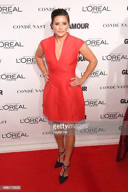 Soccer champion Ali Krieger attends Glamour's 25th Anniversary Women Of The Year Awards at Carnegie Hall on November 9 2015 in New York City