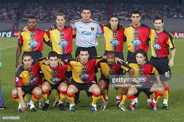 Soccer Champions League, First Round, Season 2003-2004 : Juventus FC vs Galatasaray SK. Galatasaray SK team. Football, Ligue des Champions, 1er tour,...