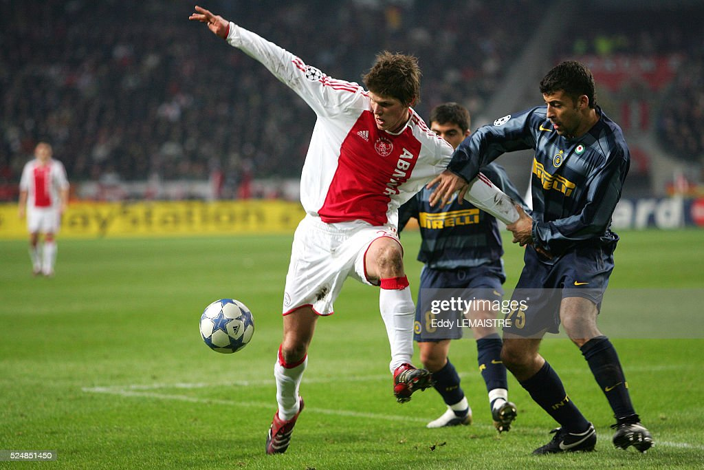 Soccer - Champions League - AFC Ajax vs FC Internazionale : News Photo