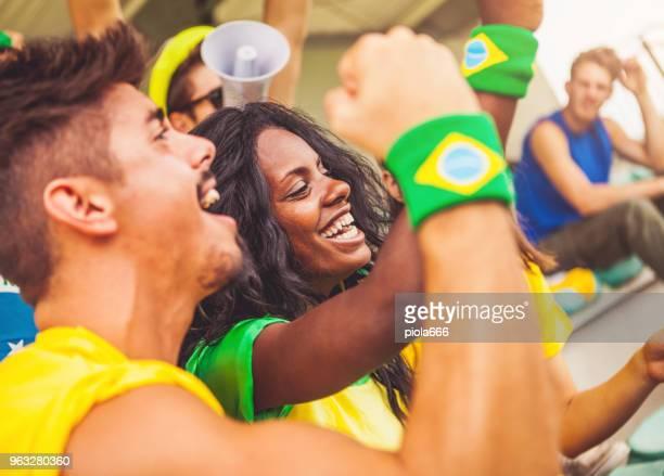 Los partidarios de Campeonato de fútbol: los aficionados de las selecciones nacionales