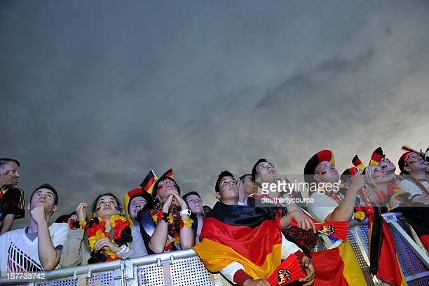 Soccer Fans at Public Viewing Area Brandenburger Tor