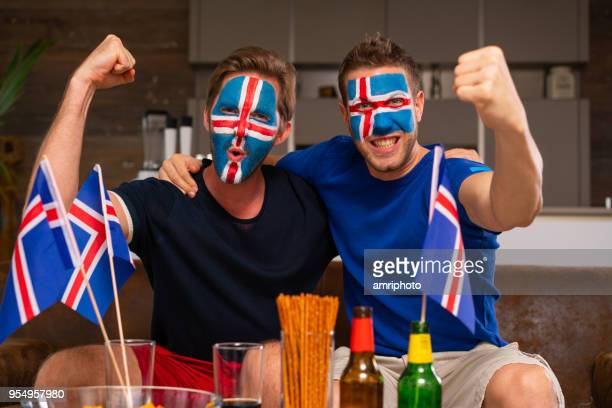 soccer fans from iceland