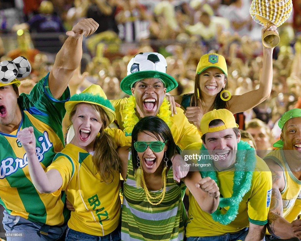 Soccer Fans : Stock Photo