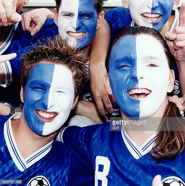 7 815 Football Face Paint Photos And Premium High Res Pictures Getty Images