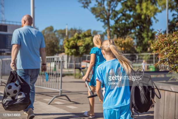 soccer father sports chaperone - sport venue stock pictures, royalty-free photos & images