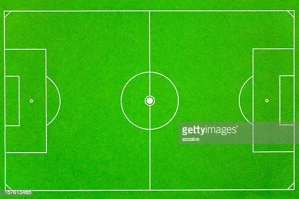soccer field fussballfeld