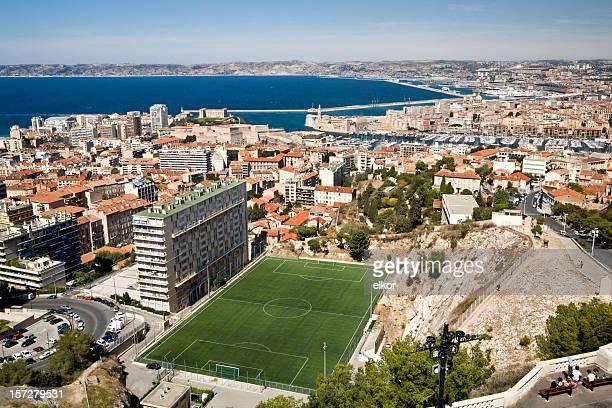 Terrain de football de Marseille
