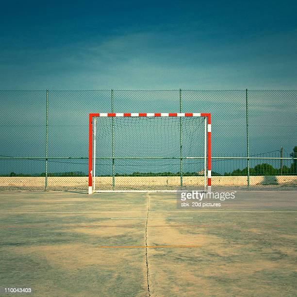 soccer field - soccer goal stock pictures, royalty-free photos & images