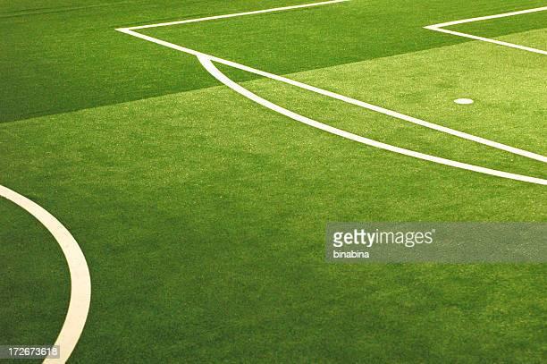 Fußballplatz-Linien