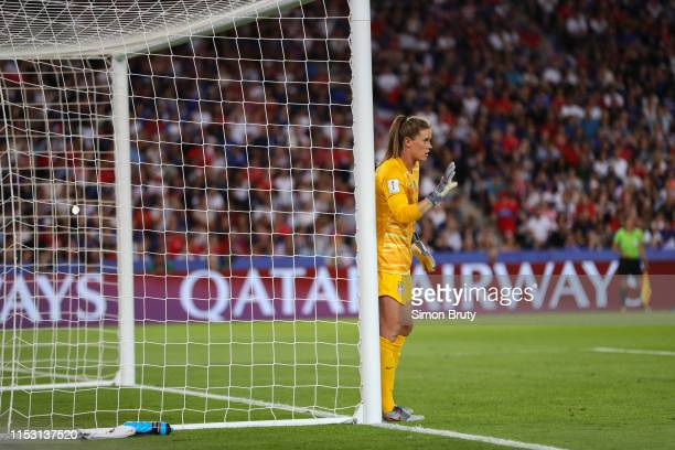 FIFA Women's World Cup USA goalkeeper Alyssa Naeher during Quarterfinals vs France at Parc des Princes Paris France 6/28/2019 CREDIT Simon Bruty