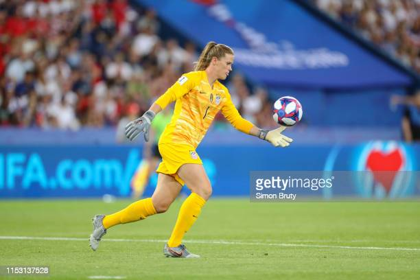 FIFA Women's World Cup USA goalkeeper Alyssa Naeher in action vs France during Quarterfinals at Parc des Princes Paris France 6/28/2019 CREDIT Simon...